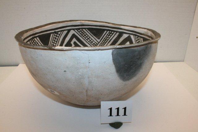 111: Mesa Verde Anasazi Pottery Bowl