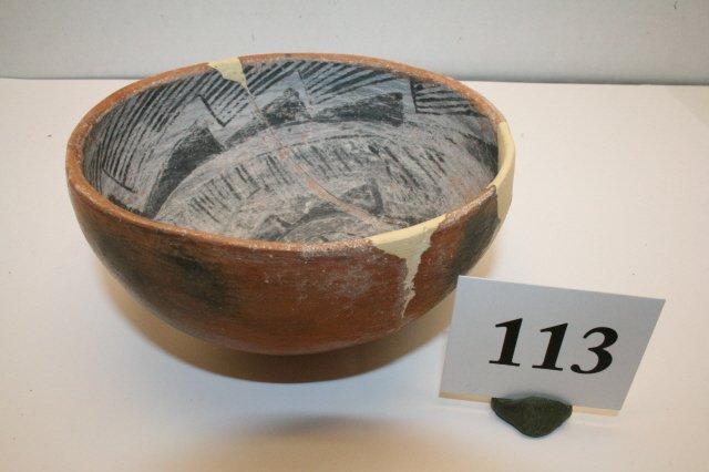 113: Polychrome Salado Bowl