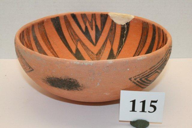 115: Anasazi Pottery Bowl