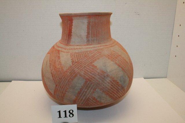 118: San Juan Pueblo Pottery Jar