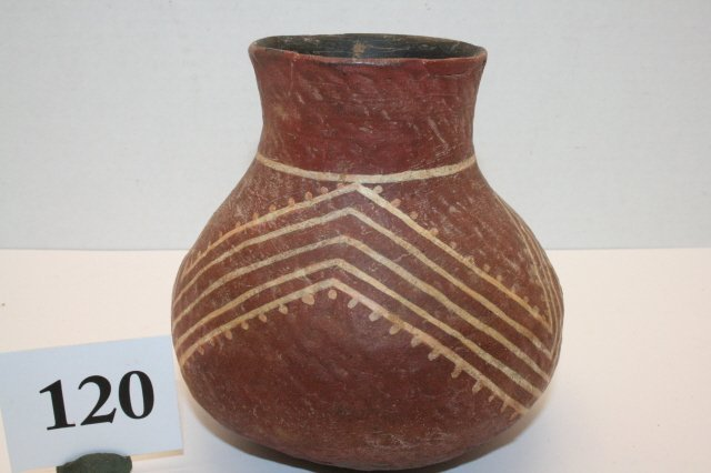 120: Anasazi Pottery Jar
