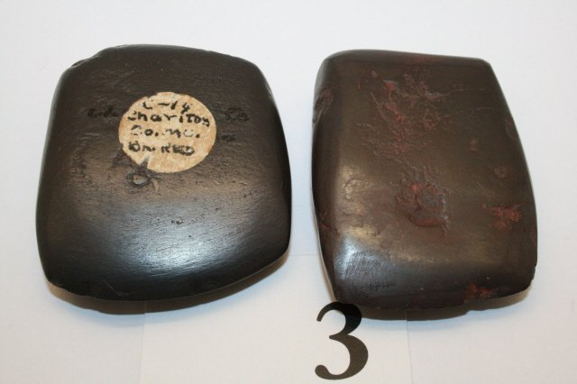 3: (2) Ohio Hematite Celts
