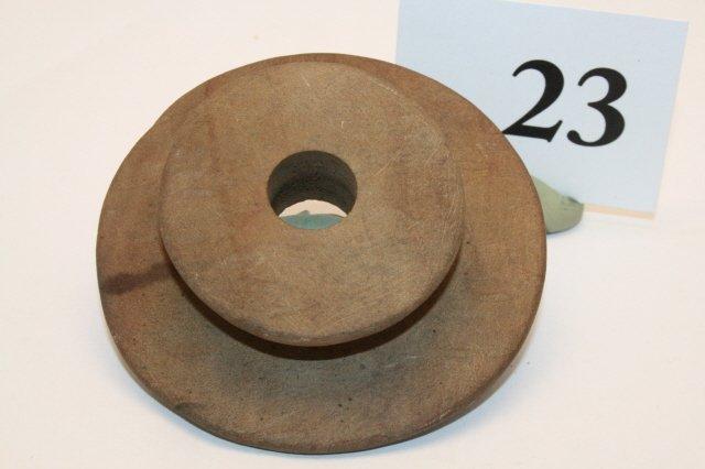 "23: 2 7/8"" Sandstone Ear Spool"