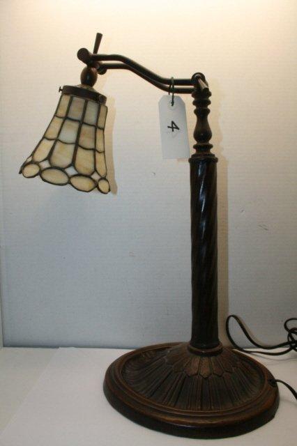4: Bronze Patina Desk Lamp
