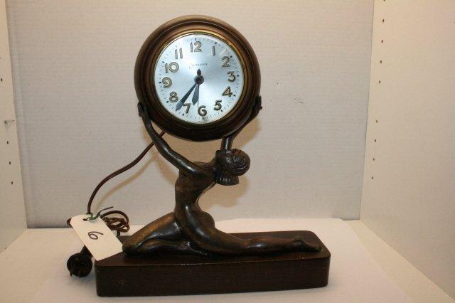 6: Sessions Art Deco Clock