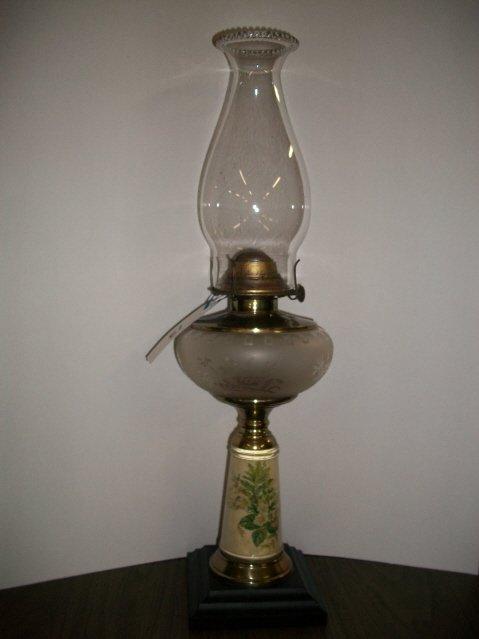13: Sandwich Type Oil Lamp
