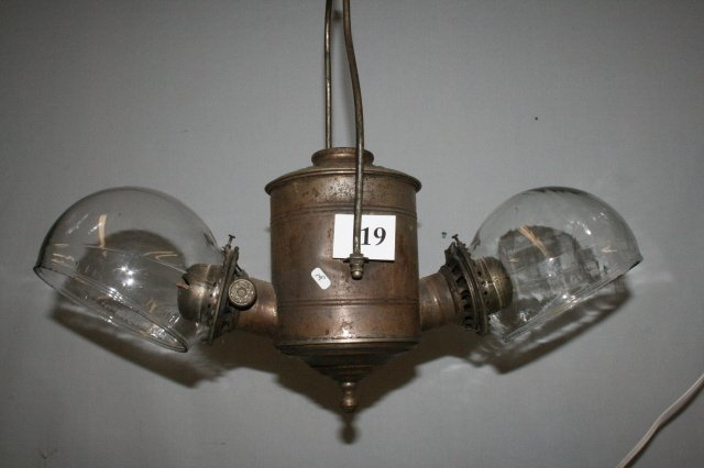 19: Double Angle Hanging Lamp