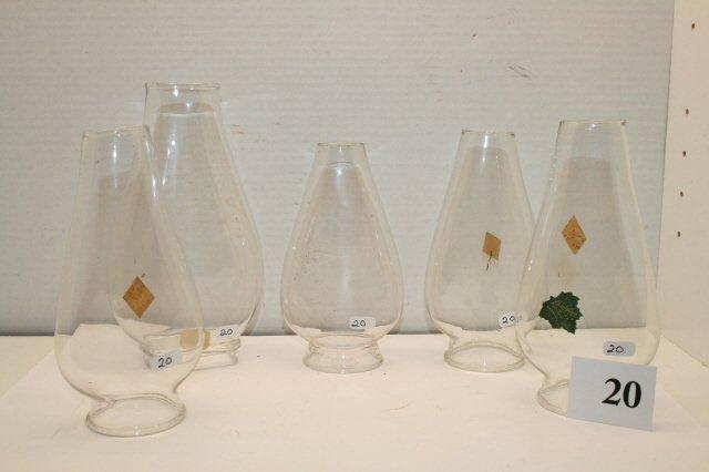 20: Oil Lamp Chimneys