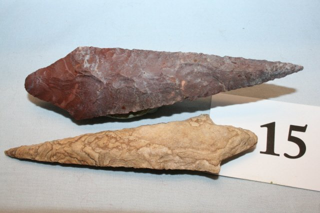 15: (2) Fine Neolithic Points