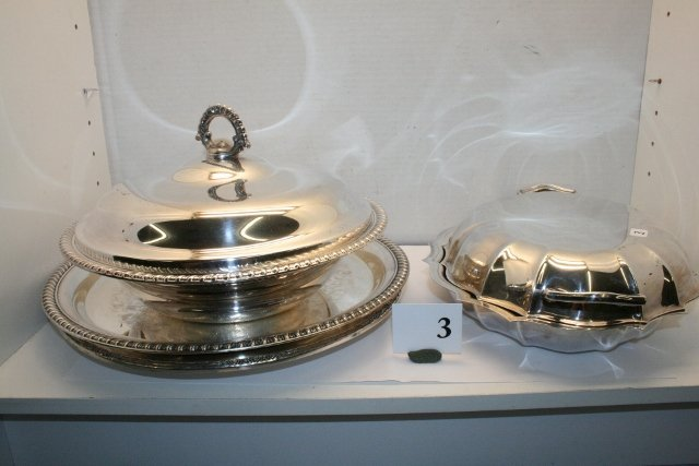 3: Misc. Silver Plate