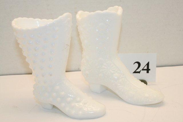 24: 2 Fenton White Shoes