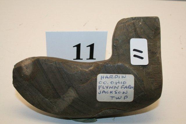 11: Banded Slate Geniculate Preform