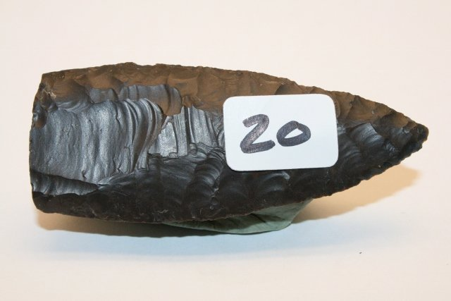 20: Thin Paleo Fluted Point