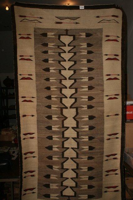 524: Navajo Pictorial Rug