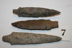 (3) Kentucky Spear Points
