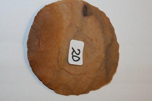 20: Neolithic Flint Disc