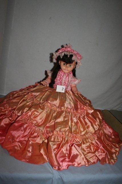 "19"" Pink Plastic Doll"
