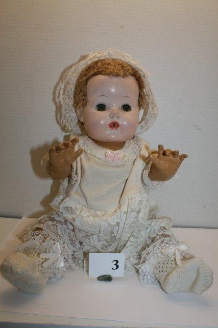 Rubber Body Comp Head Doll