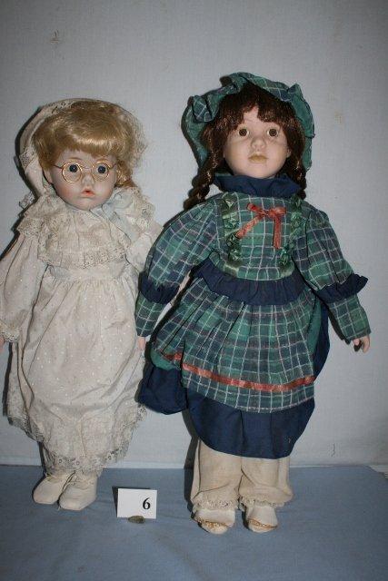 2 Contemporary Dolls