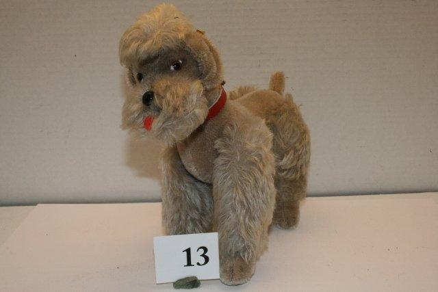 "Steiff Poodle – ""Snobby"""