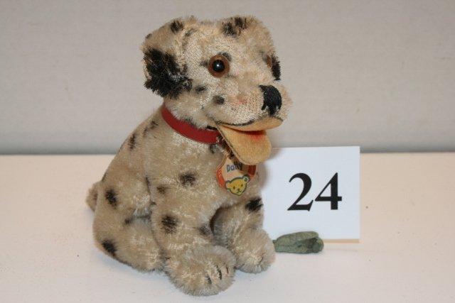 """4"""" Steiff """"Dolly"""" Dog"""