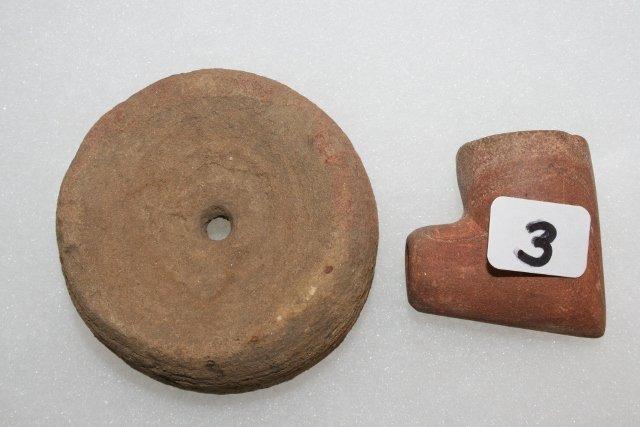 Sandstone Drill Discoidal