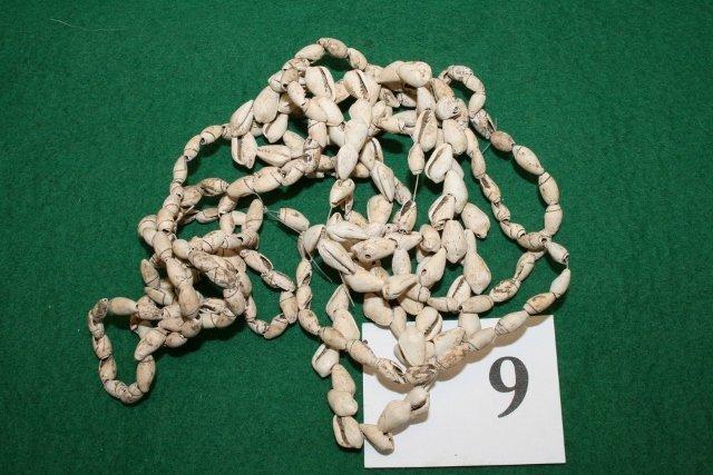 "3 Strands of 24"" Shell Beads"