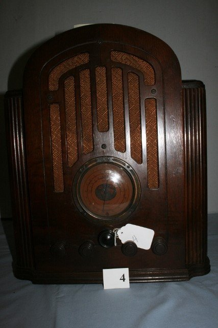 1934 RCA Model 128 Tombstone -WILL NOT SHIP