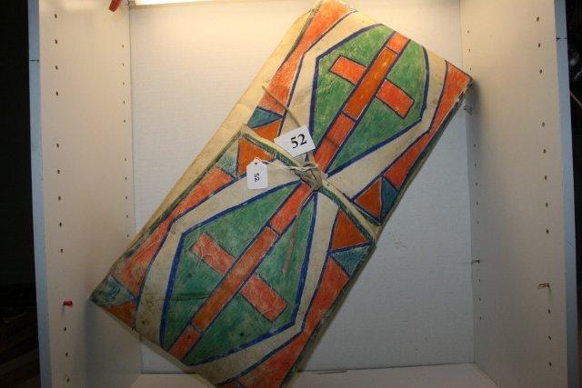 Painted Parfleche Bag