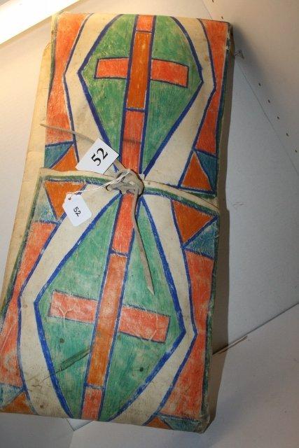 Painted Parfleche Bag - 2