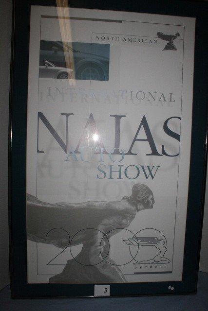 North American International Auto Show-Detroit poster