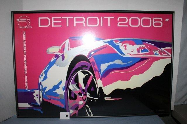 2006 North American International Auto Show poster