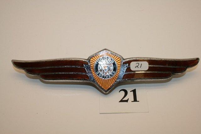1937 Dodge Brothers enameled emblem