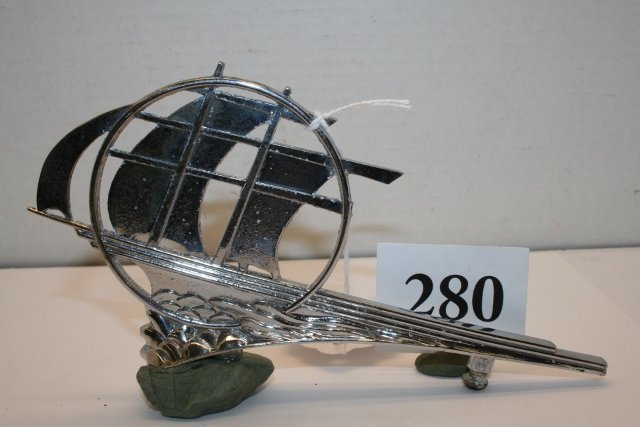1936 Plymouth hood ornament