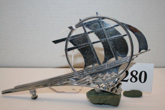 1936 Plymouth hood ornament - 2
