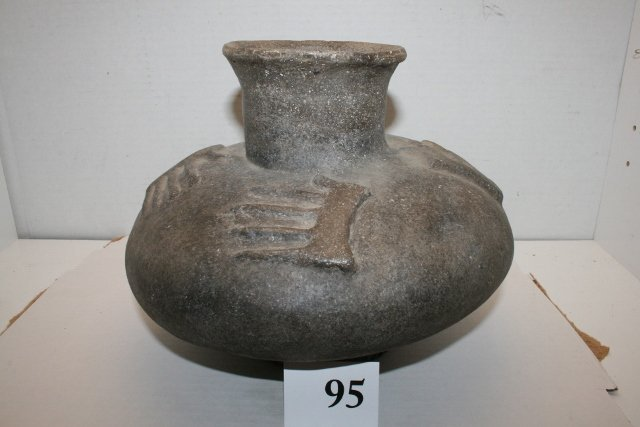 Mississippian Jar Pedestal base