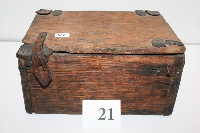 Old Wooden primitive Box