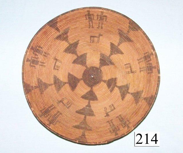 Western Apache Figural Basket