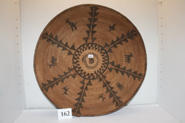 Apache Figural Quadruple Cross, Basket Bowl