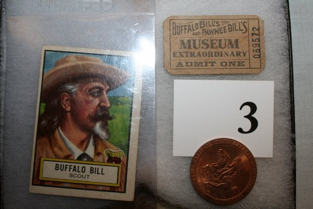 Look 'n See #54 Buffalo Bill Scout Collectors Card