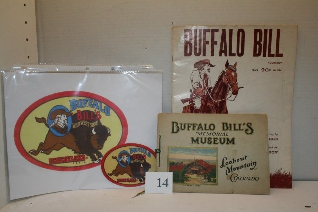Buffalo Bill's Memorial Museum Booklet