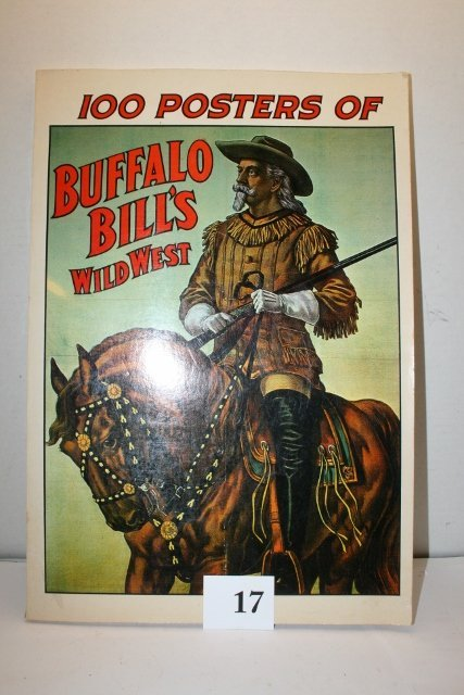 Poster Book 100 Posters of Buffalo Bill Wild West