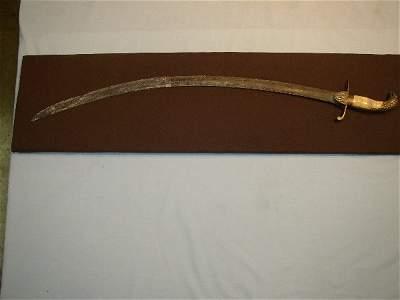 "165: 35"" Colonel Crawford's Sword"