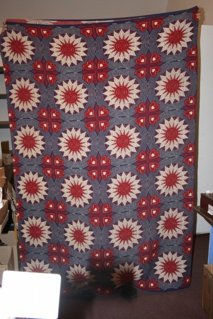 Western Civil War Era Coverlet
