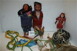 Box Lot Misc. Indian Related Items