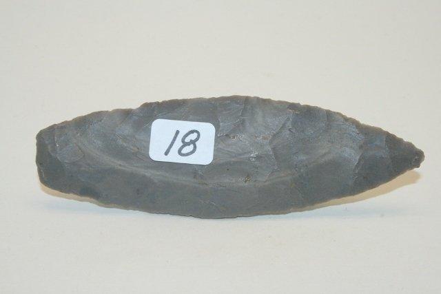 Hornstone Paleo Lanceolate Point
