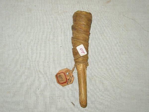 """20: 6 3/4"""" Cheyenne Deer Leg Pipe"""