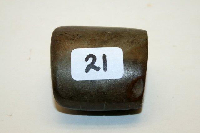 """D"" Tube Chlorite Bannerstone"
