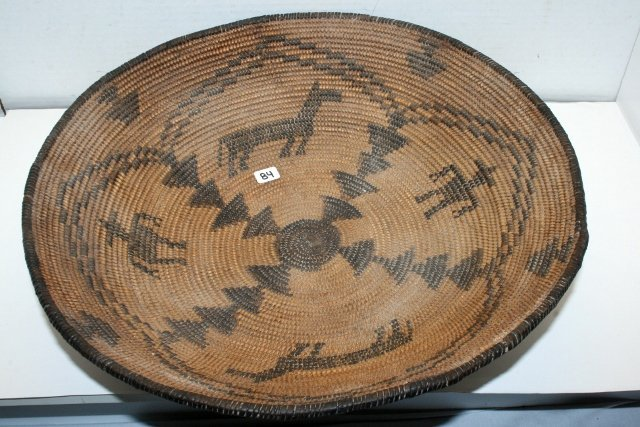 Figural Apache Basket Bowl