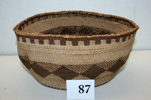 Klamath Basketry Bowl